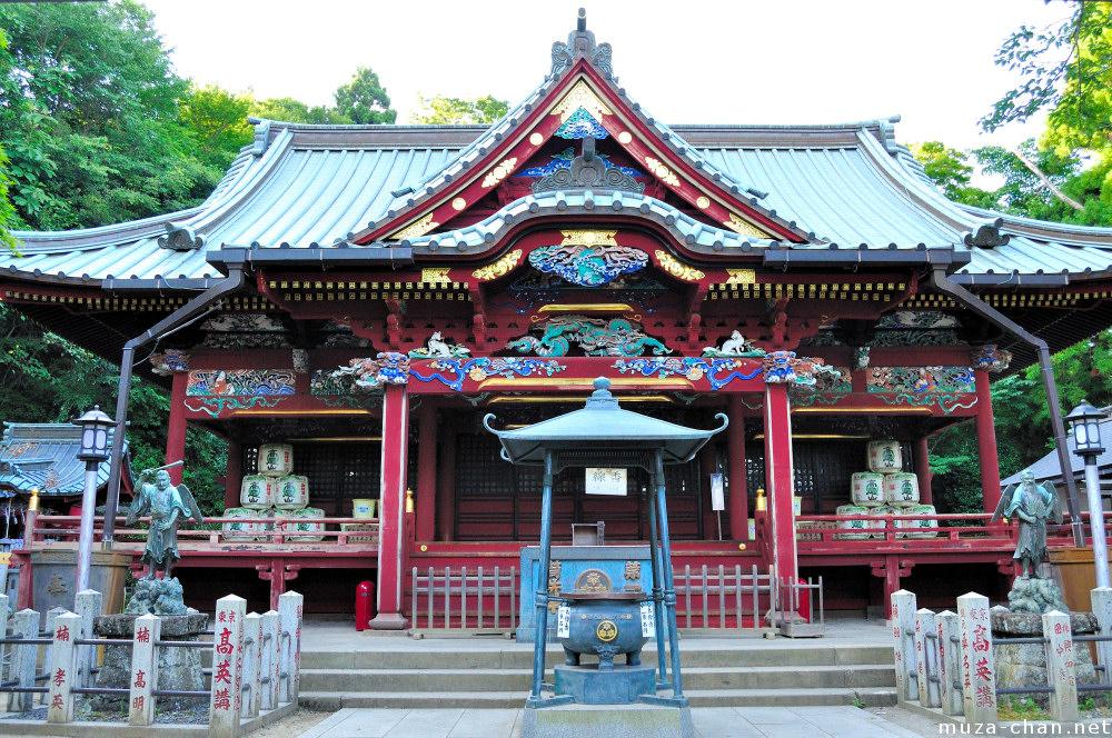 Izuna Gongen-do, tengu templet