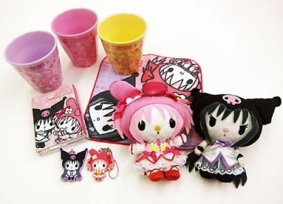 Sanrio samarbejder også med Madoka