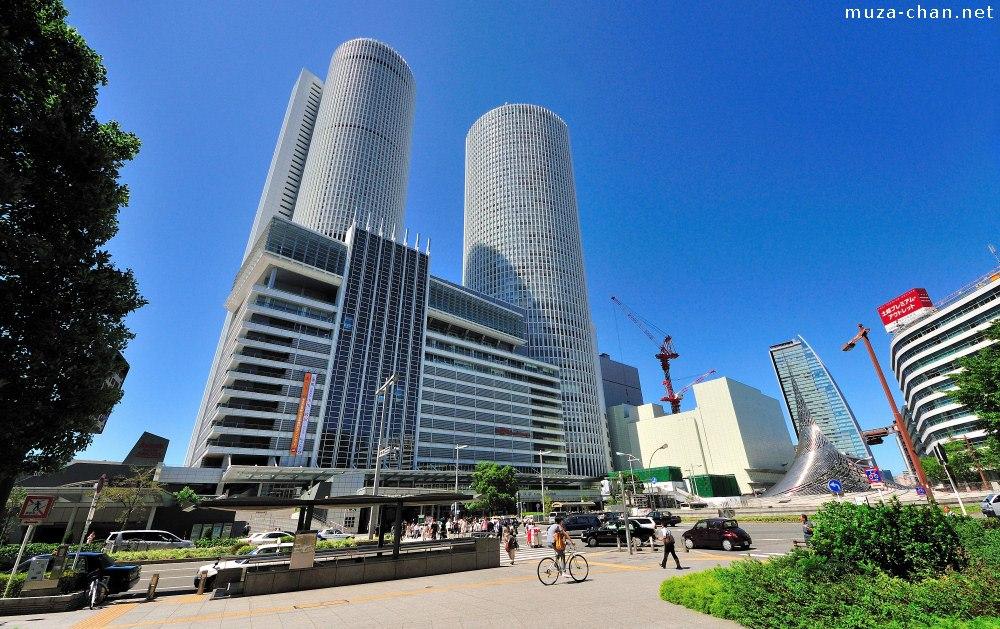Den højeste jernbanestation i verden, JR Central Towers