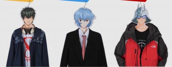 Hæng dit tøj på din yndlings anime person