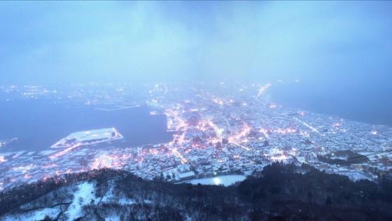 Snedækkede Hakodate