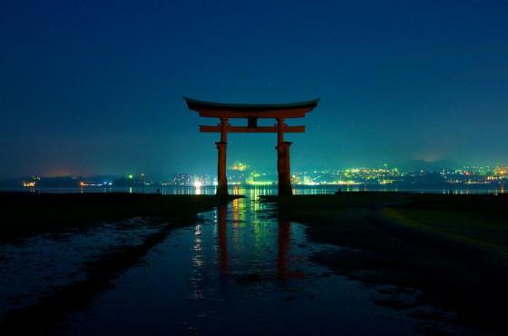 Itsukushima helligdommens torii