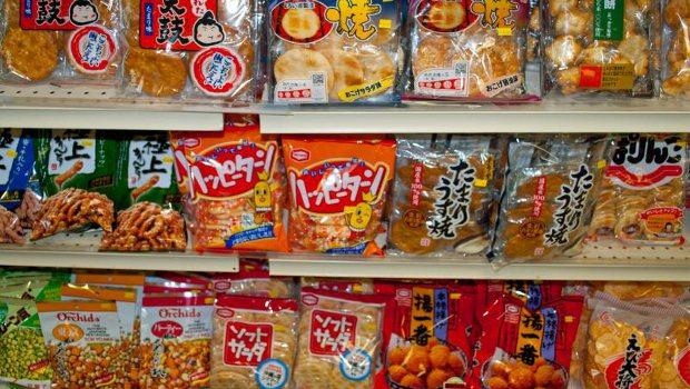 De mest populære snacks i Japan