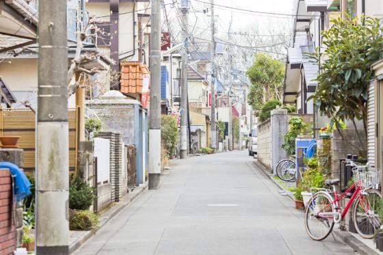 Boligkvarter i Japan