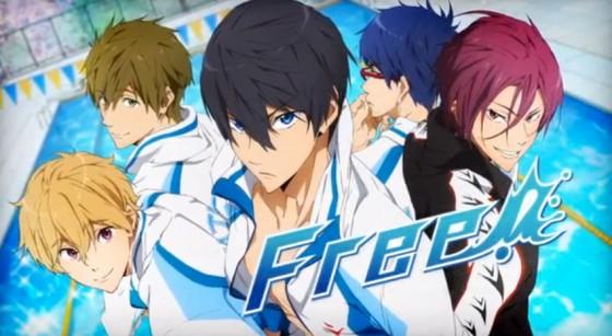 """Kyoto Animation annoncerer shounen svømme anime """"Free!"""""""