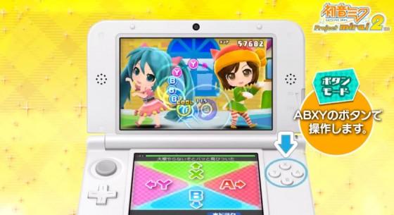 Første gameplay trailer for Hatsune Miku Project Mirai 2