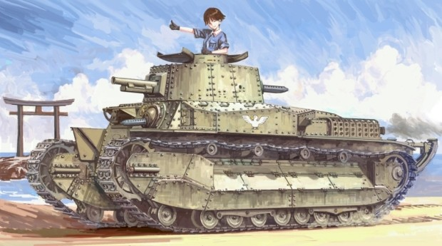 """Der kommer en """"Girls und Panzer"""" film"""