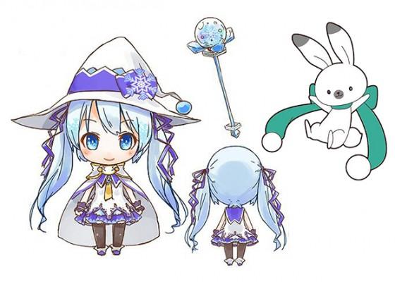 Nendoroid Snow Miku 2014 besluttet