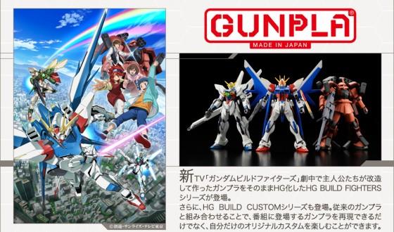 """""""Gundam Build Fighters"""" anime serie kommer til oktober"""