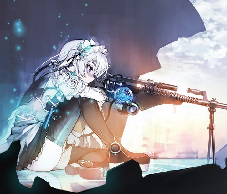 """Hitsugi no Chaika"" light novel laves til anime"