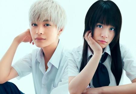 """Billeder af skuespillerne i """"Boku wa tomodachi ga sukunai"""" live action"""