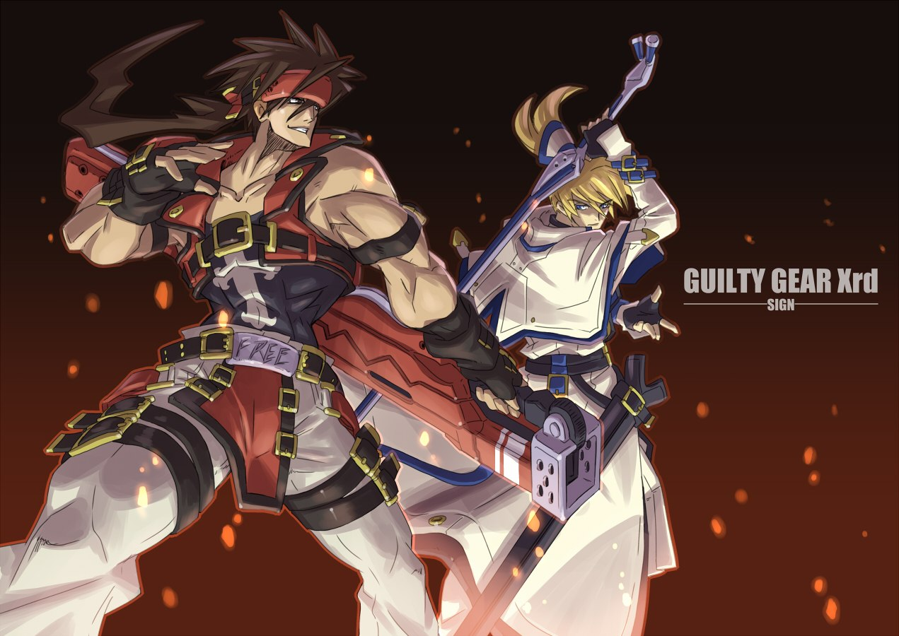 "Fire nye personer i ""Guilty Gear Xrd -SIGN-"""