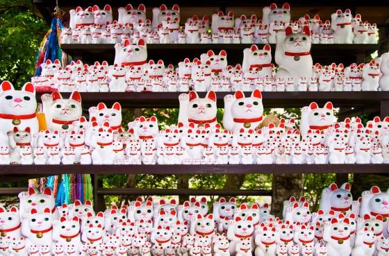 Maneki Neko templet