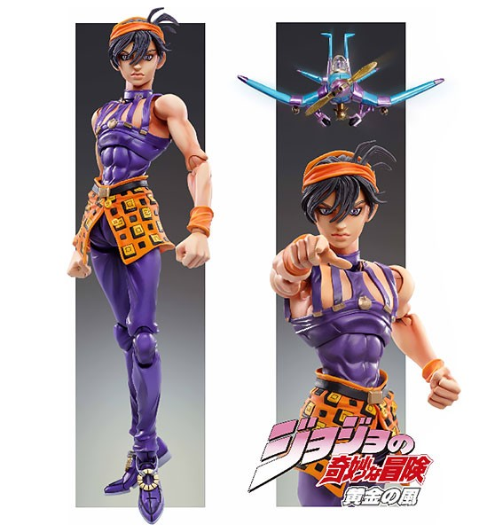 Super Action Statue - JoJo's Bizarre Adventure Part.V #44 Narancia Ghirga & Aerosmith