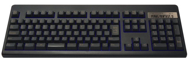 """Final Fantasy XI"" keyboard"
