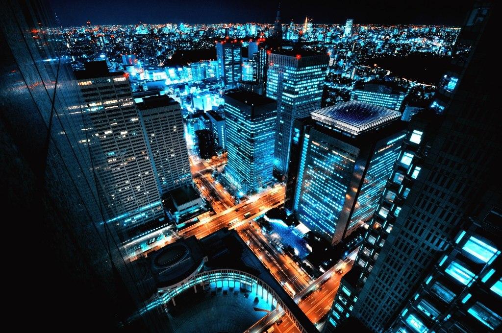 Shinjuku sover aldrig