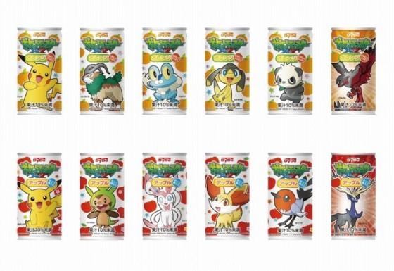 Pokémon frugt juice