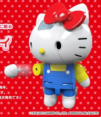Hello Kitty som kæmpe robotHello Kitty som kæmpe robot