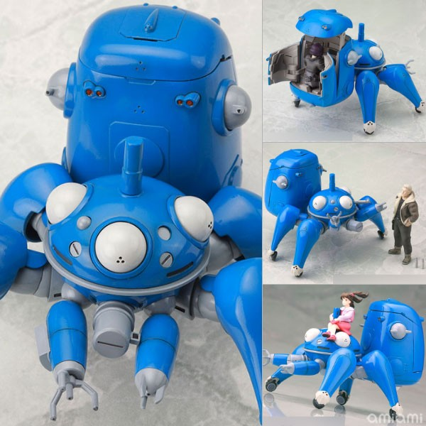 Tachikoma with Motoko Kusanagi & Batou [Ghost in the Shell STAND ALONE COMPLEX]