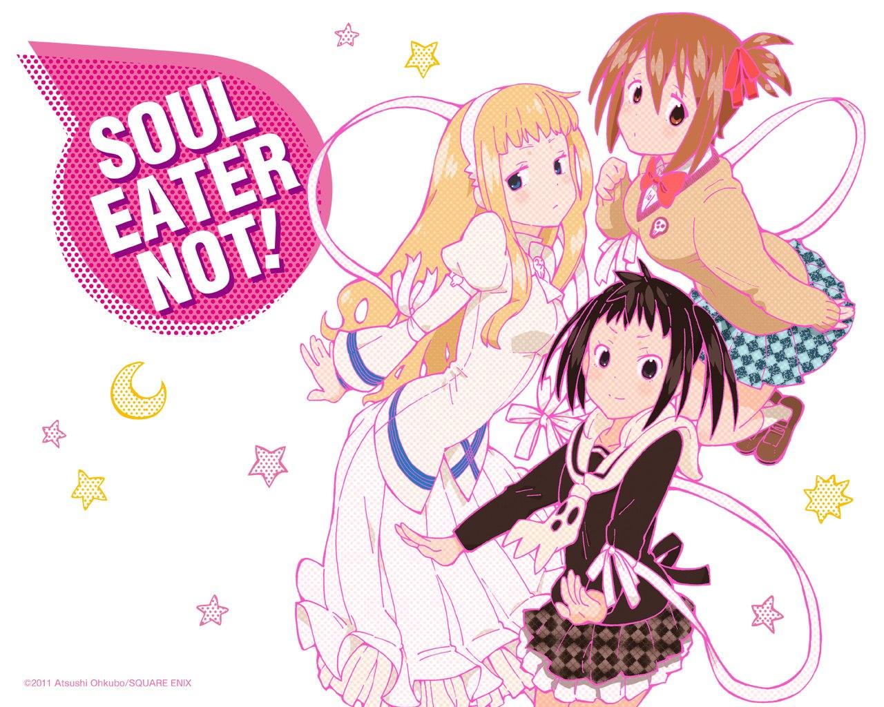 """""""Soul Eater Not!"""" spinoff mangaen laves til anime"""
