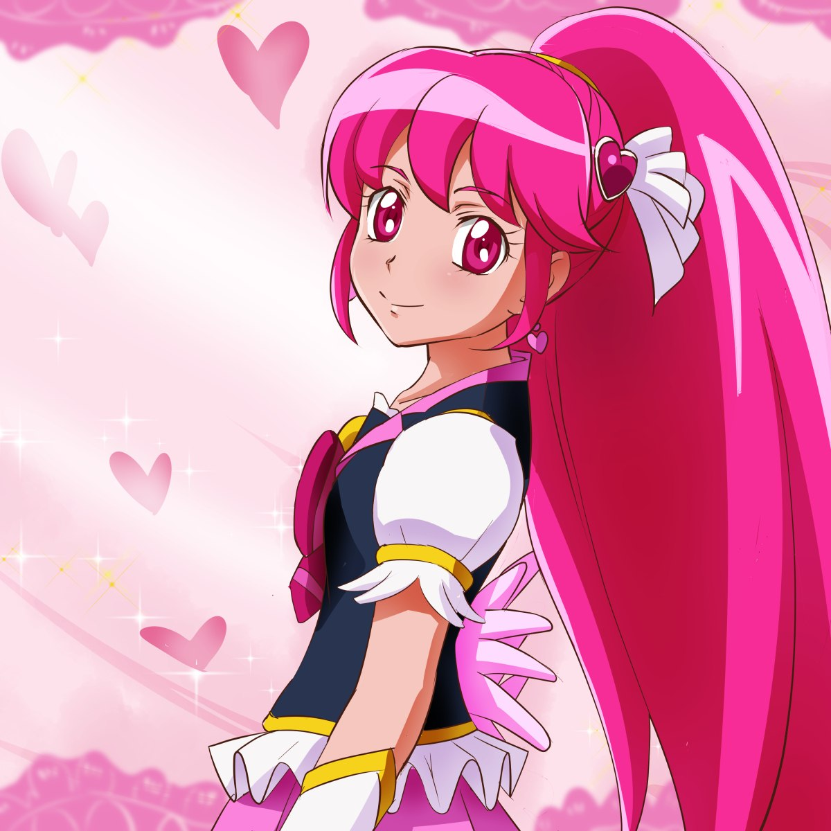 """Reklame for """"Happiness Charge Precure"""""""