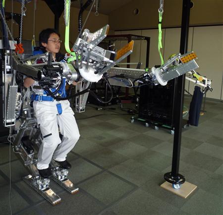 Panasonic laver et ekso-skelet