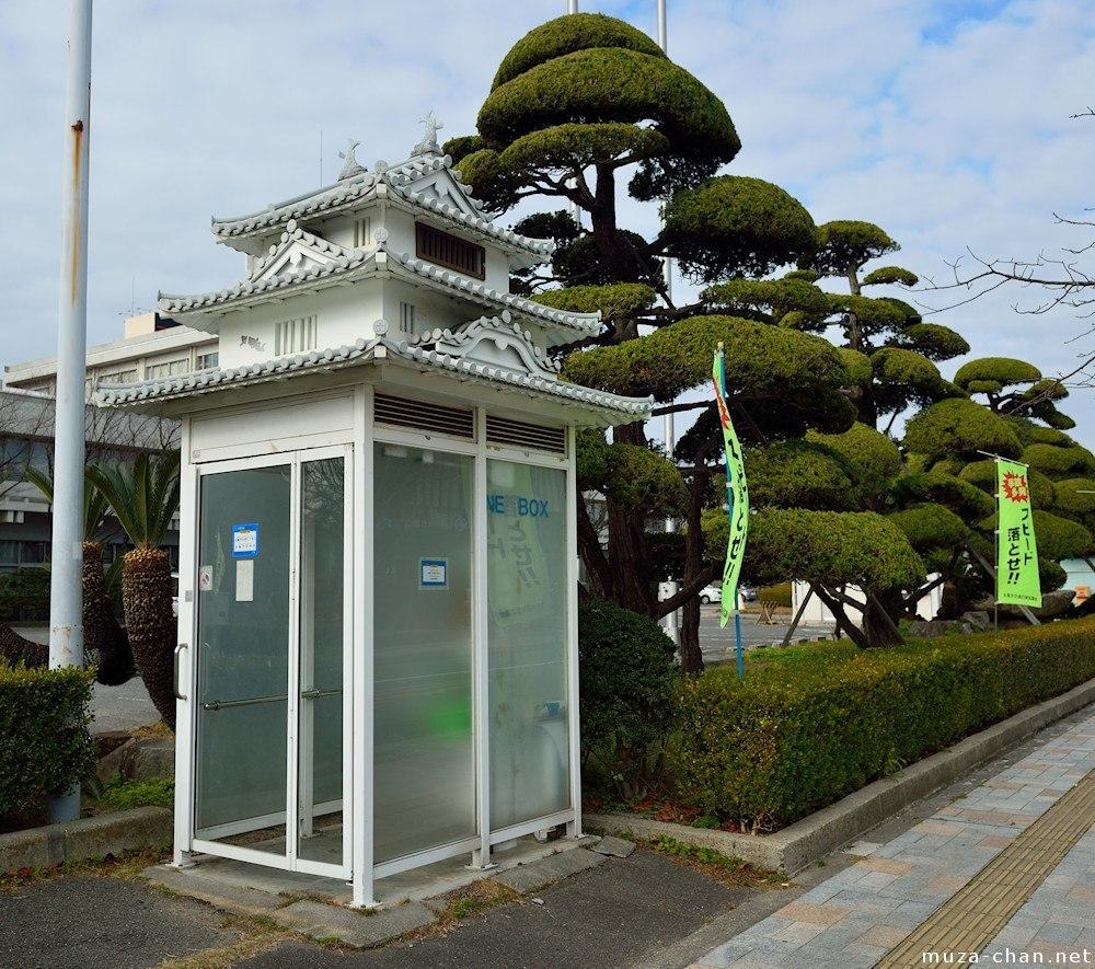 Meget japansk telefonboks