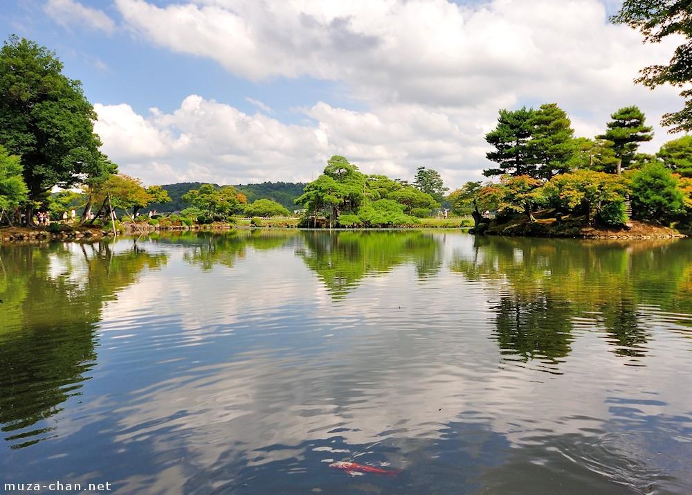 Kanazawa Kenroku-en, den perfekte japanske have