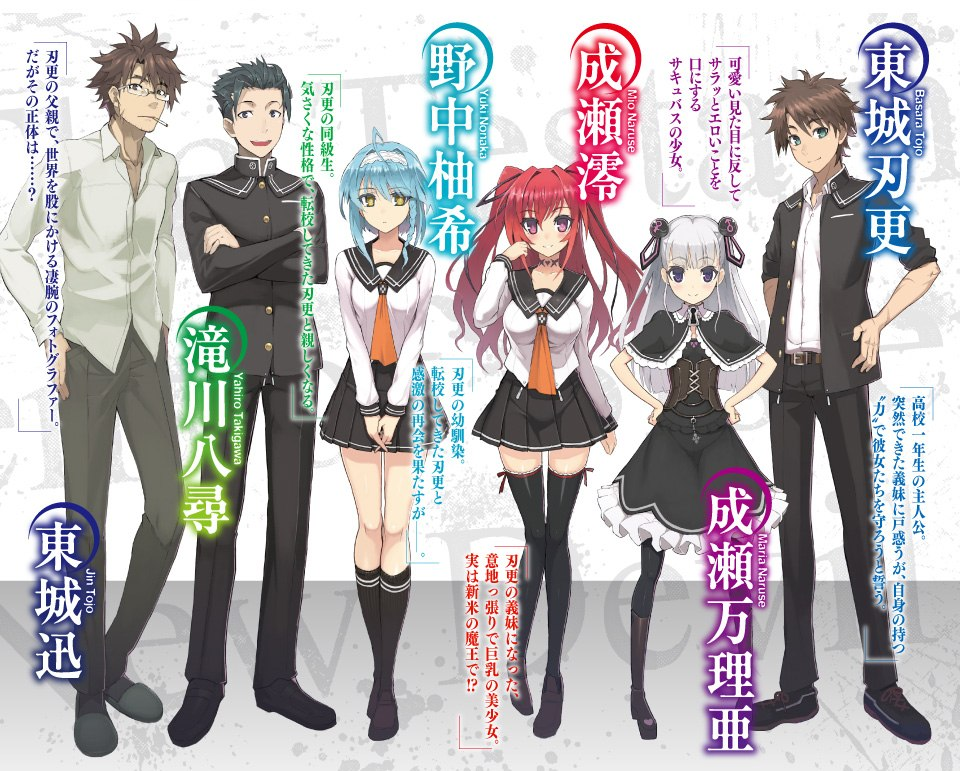 """Shinmai Maou no Keiyakusha"" light novel laves til anime"