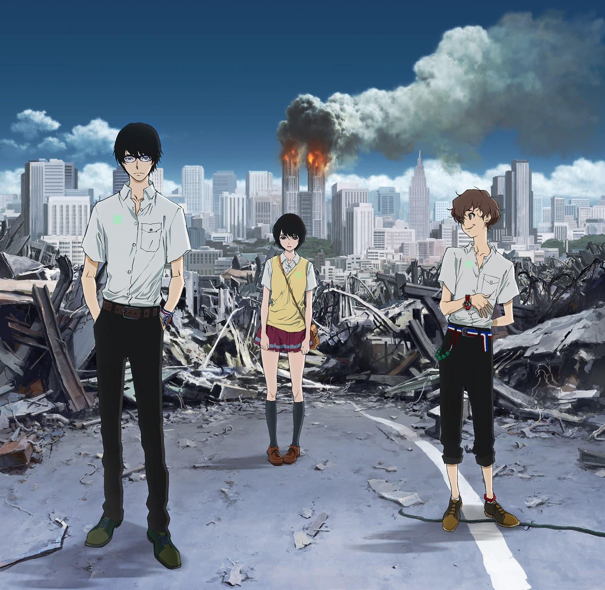 """Trailer for ny original TV anime """"Zankyou no Terror"""""""