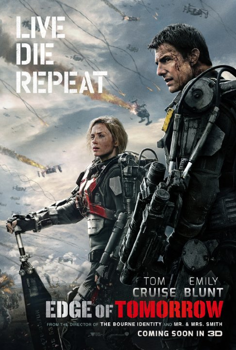 "Hollywood udgaven af ""All You Need Is Kill"" / ""Edge of Tomorrow"""