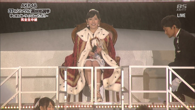 """AKB48 GE37: Mayuyu slår Sasshi """"Jeg vil beskytte AKB"""""""