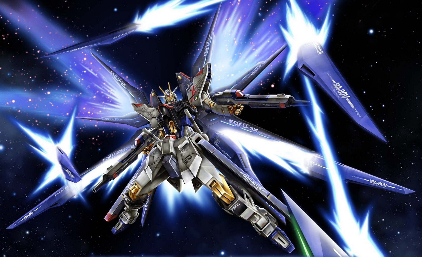 10. Strike Freedom Gundam (Gundam SEED Destiny)