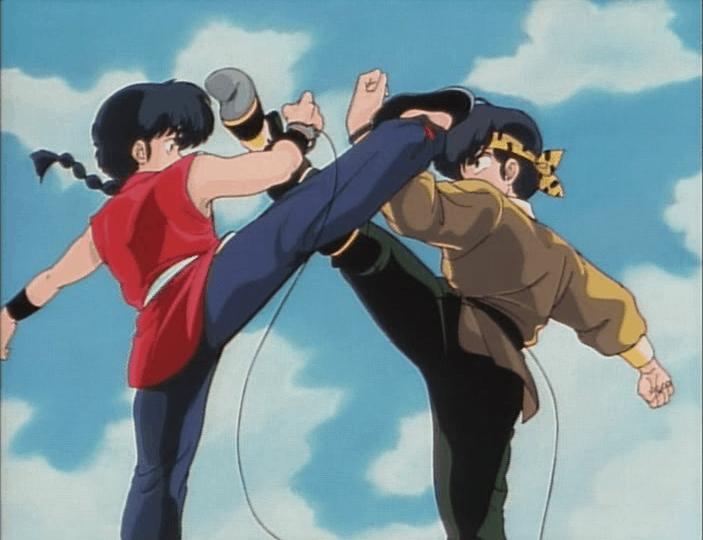Ranma vs. Ryoga [Ranma 1/2]