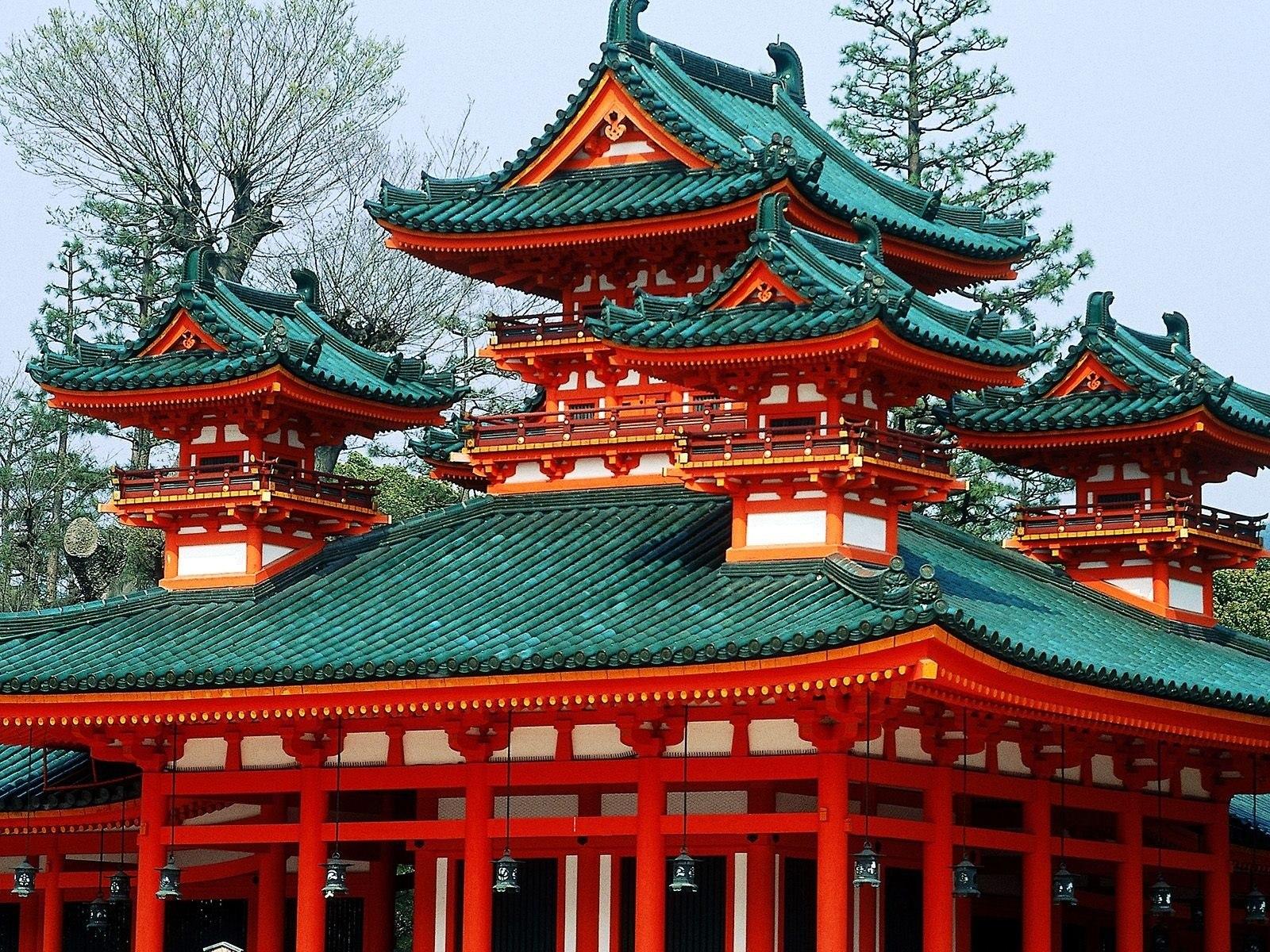 Japan foto: Tempel tage