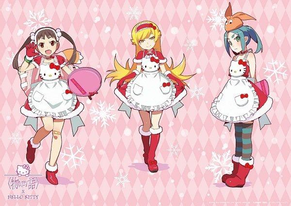 Hello Kitty x Monogatari cafe
