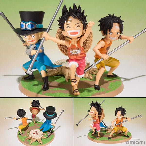 Figuarts ZERO - Luffy, Ace, Sabo -Gikyoudai no Yakusoku- [ONE PIECE]