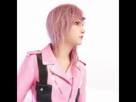 Lighting fra Final Fantasy XIII er model i Louis Vuitton reklame