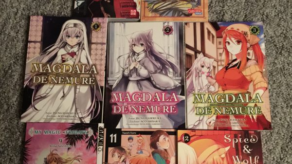 Eriks blog: Februar måneds mangaer
