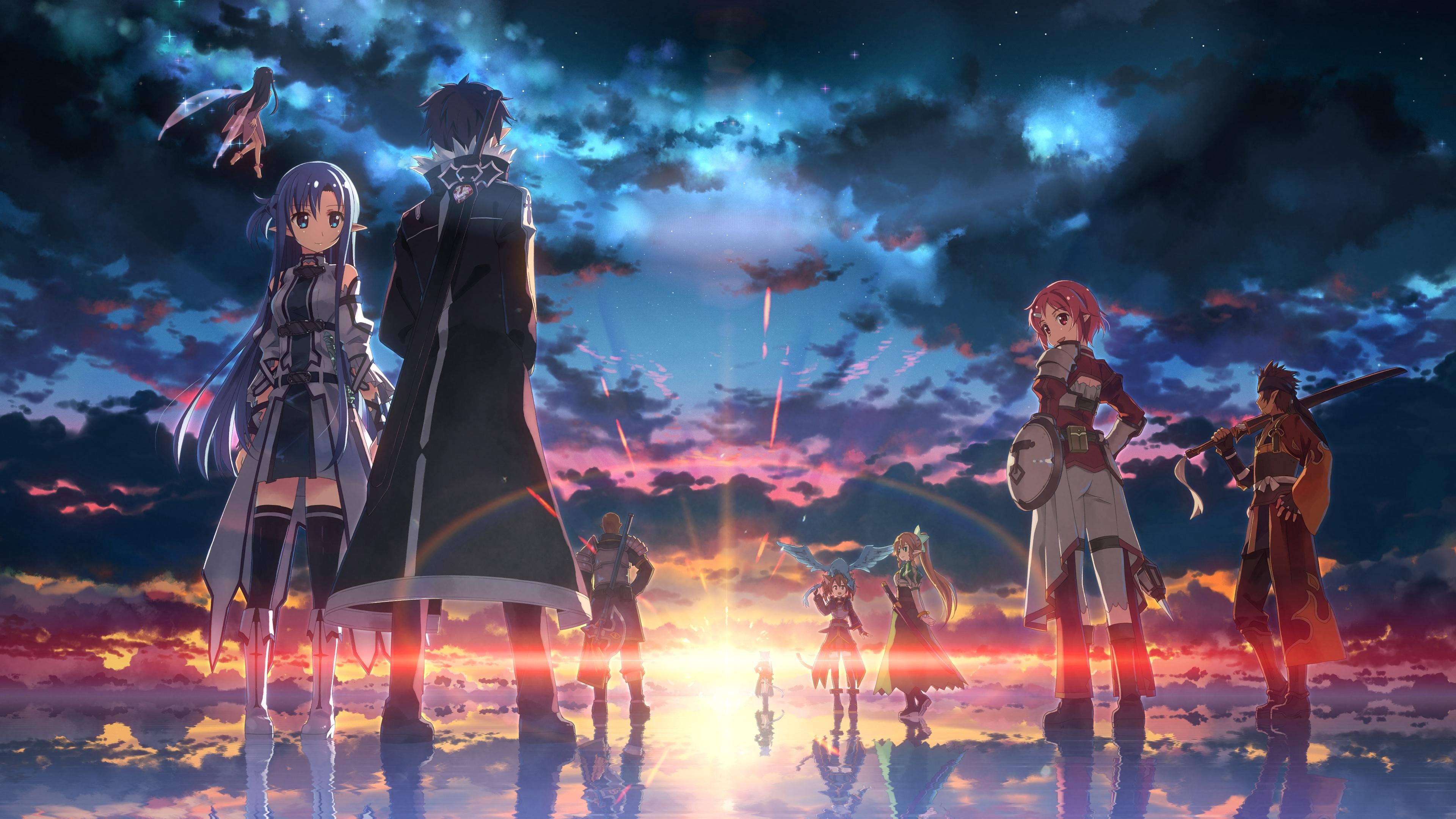 Yndlings Sword Art Online anime person