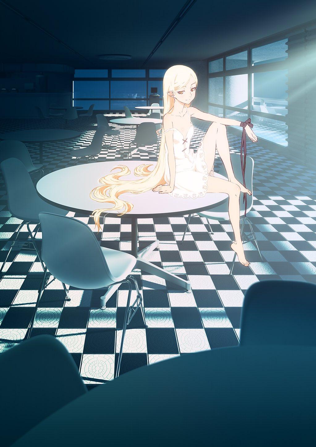Kizumonogatari II: Nekketsu-hen anime trailer og info