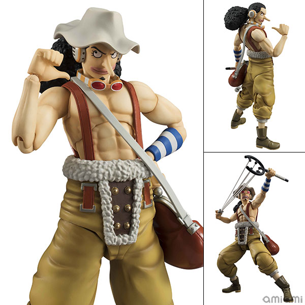 Variable Action Heroes - ONE PIECE: Usopp Action Figur