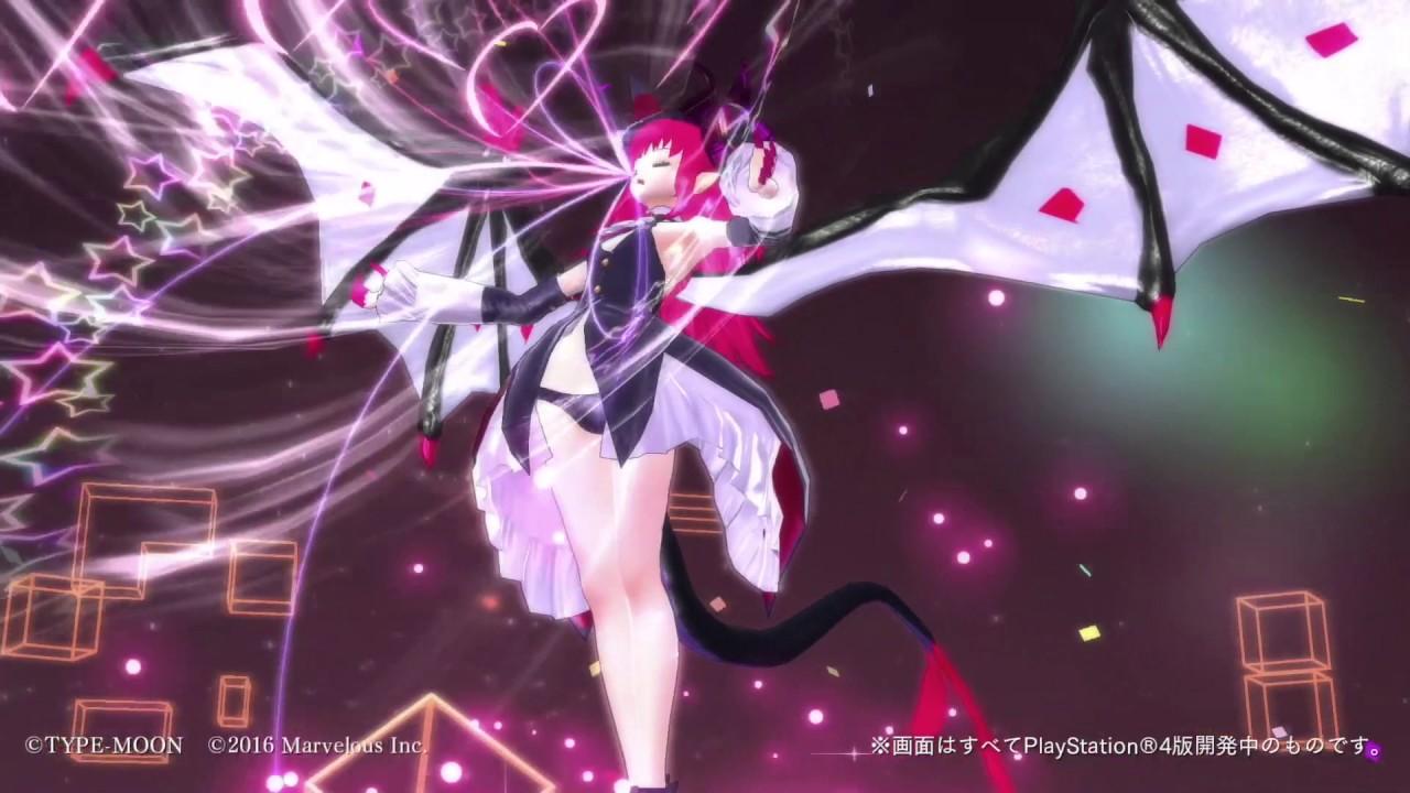 "Fate/Extella | Elizabeth Bathory ""Dragon Magician Girl"" Gameplay (PS4/Vita)"