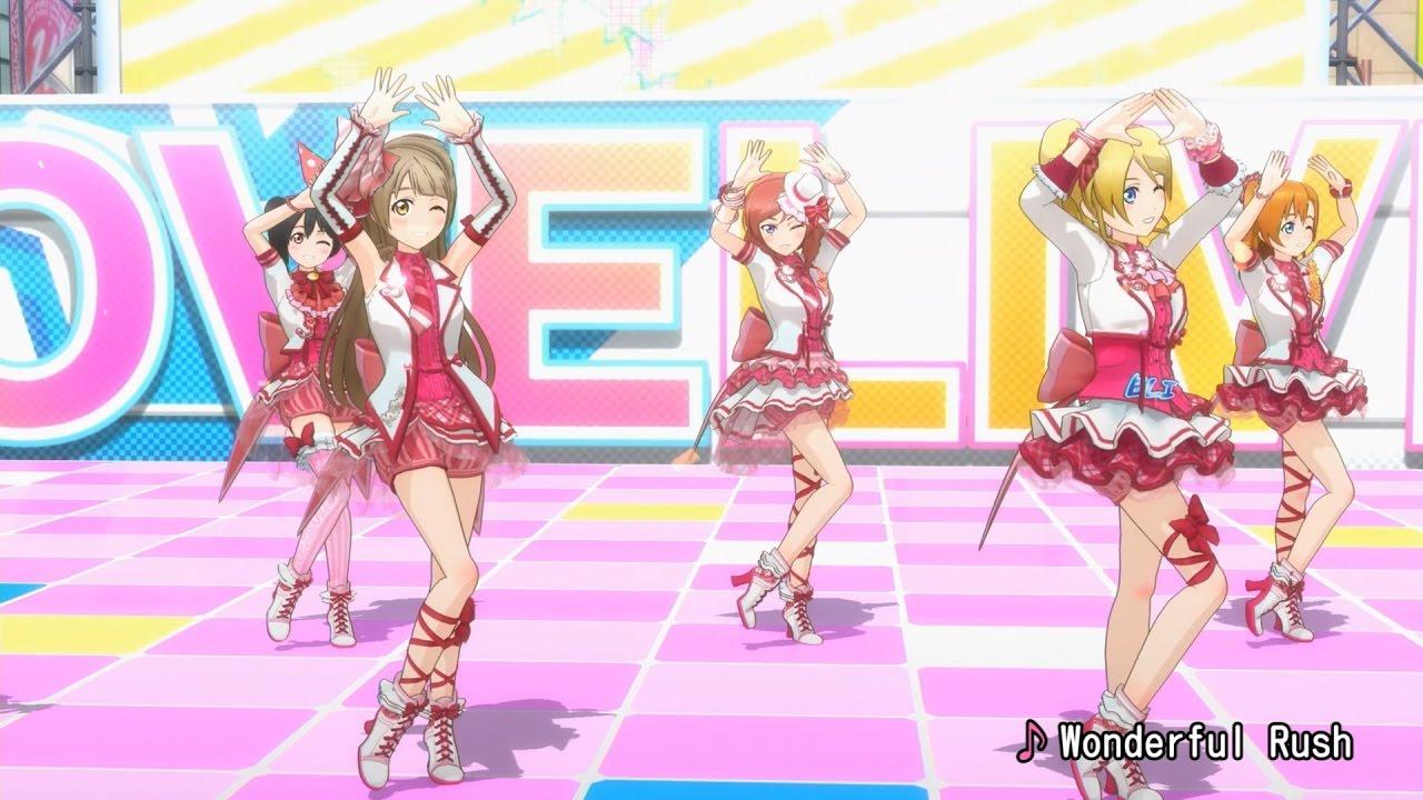 Love Live! School Idol Festival ~After School Activity~ Dance trailer (arkade)