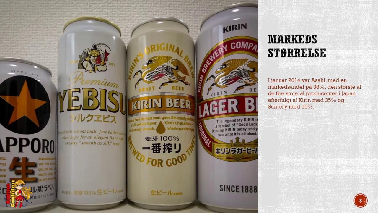 Japanerne og øl