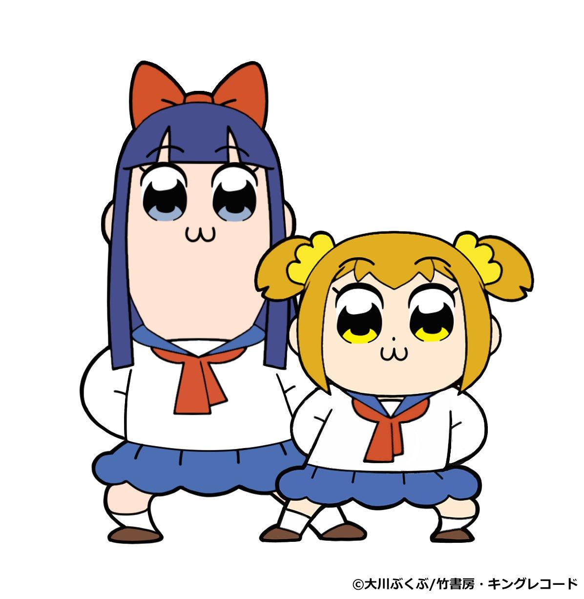 Pop Team Epic efterår 2017 anime billede