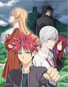 Food Wars TV anime serien får en tredje sæson