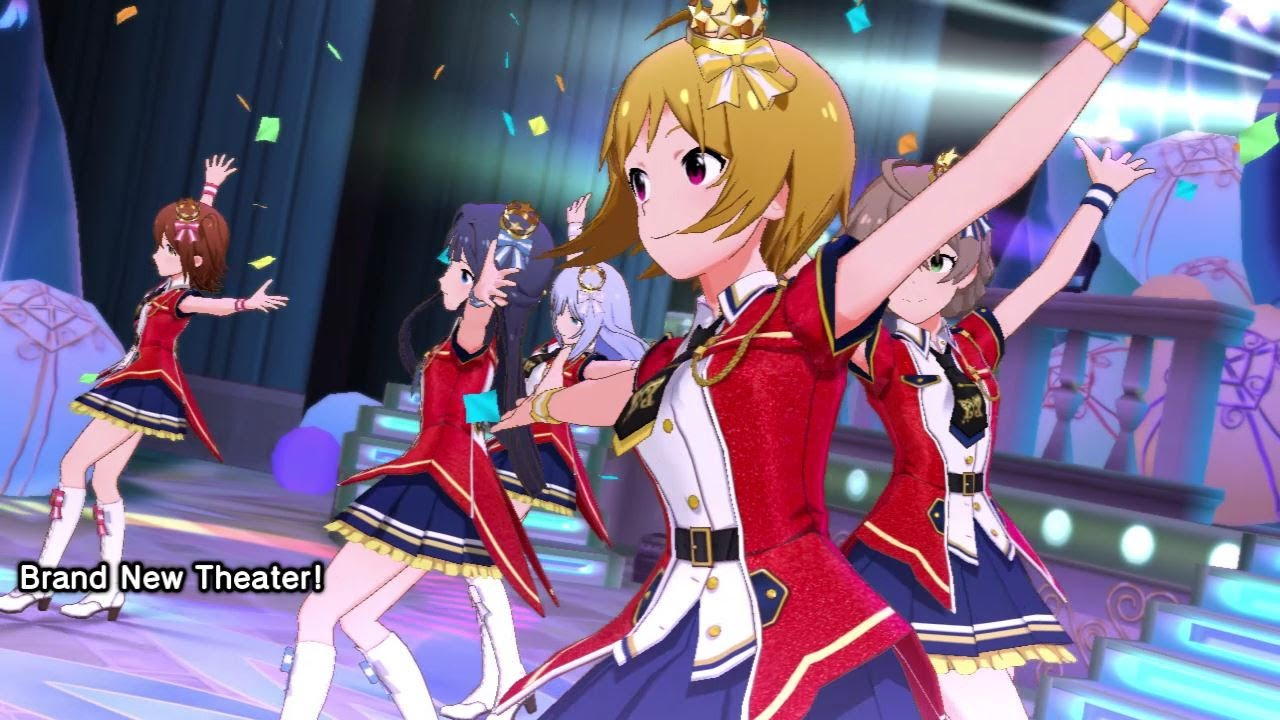 The Idolmaster Million Live -Theater Days- | 『Brand New Theater!』 musik video (mobil)