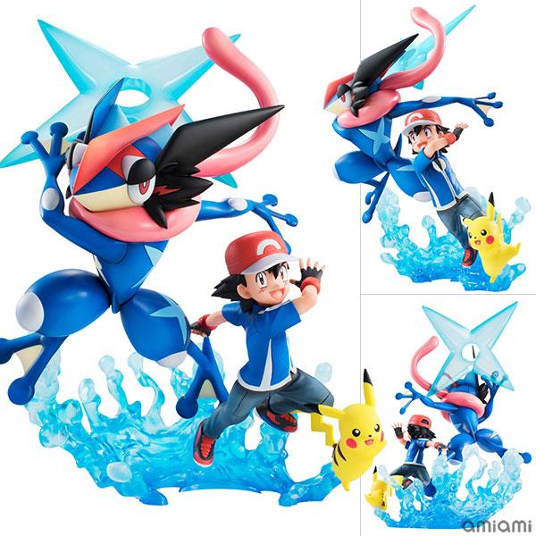 G.E.M. Series - Pokemon: Ash & Pikachu & Ash's Greninja