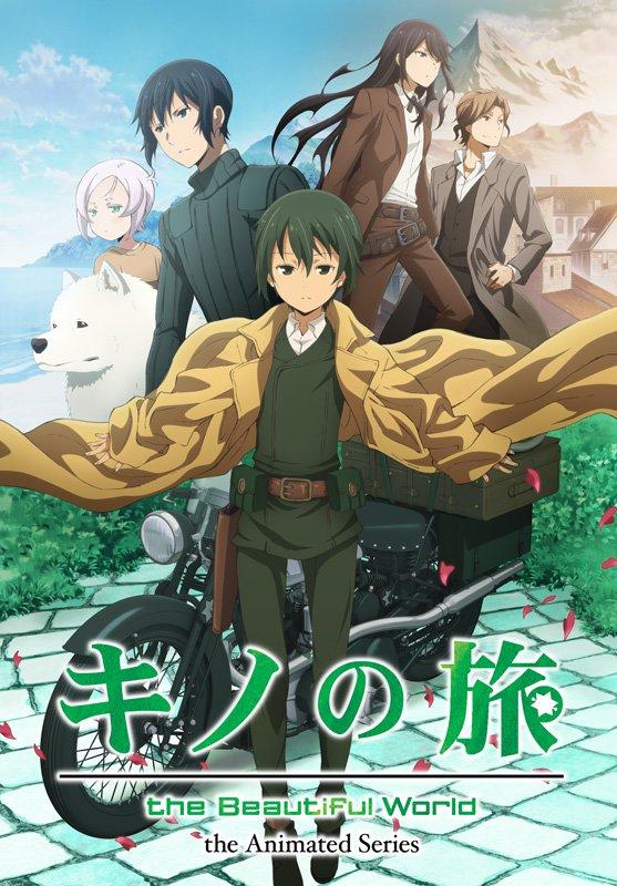 Ny Kino's Journey TV anime trailer
